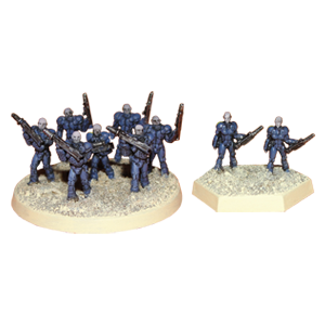 C.E.F. Infantry Options
