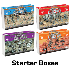 Core Rules & Starter Boxes
