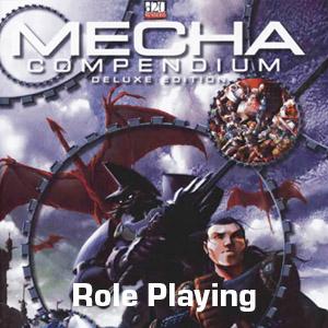 d20 Mecha Compendium Book & Minis