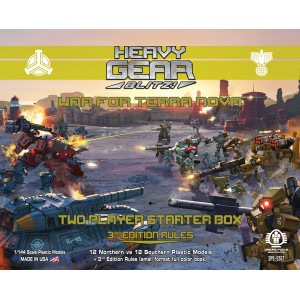 Heavy Gear Blitz - War for Terra Nova - Two Player Starter Box <Includes Current Edition Rules>