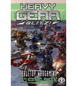 Heavy Gear Blitz - Battle in the Badlands - Two Player Starter Box <Includes Current Edition Rules>