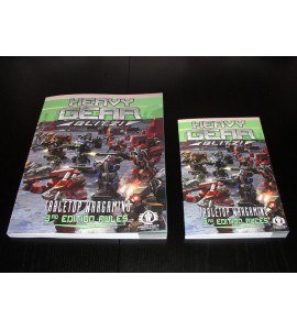 Heavy Gear Blitz! Tabletop Wargaming - 3rd Edition Rules - Small Format <Current Rules Edition>