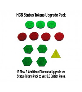 Heavy Gear Blitz Status Tokens Upgrade Pack 2nd to 3rd Edition
