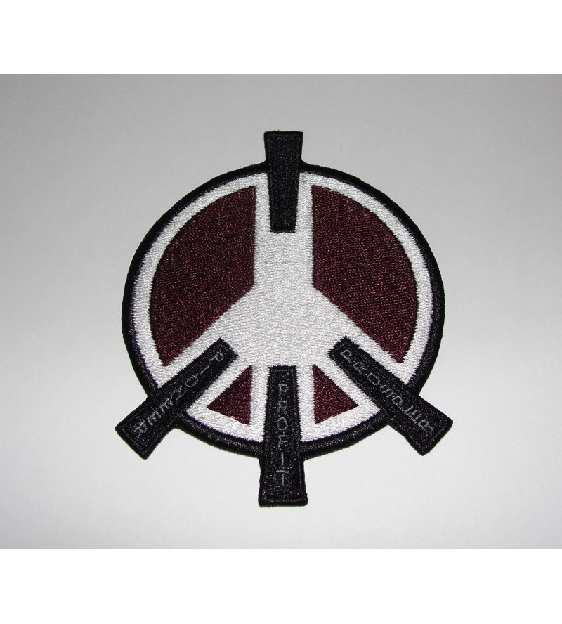 Peace River Patch with Iron-on backing