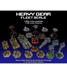 Heavy Gear Fleet Scale Collectors Package (Online Exclusive)