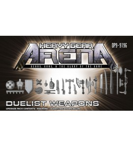 Heavy Gear Arena - Duelist Weapons Upgrade Pack