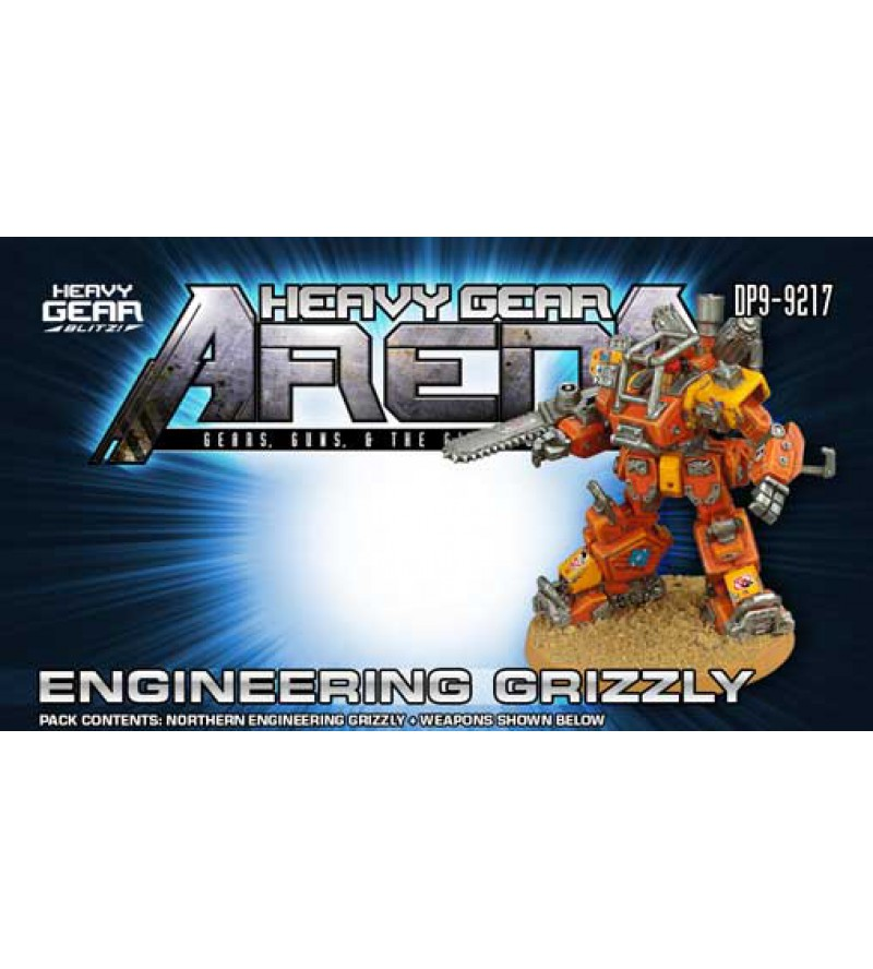 Heavy Gear Arena - Engineering Grizzly Pack