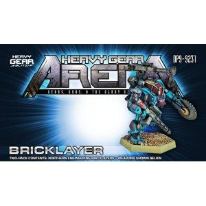 Heavy Gear Arena - Bricklayer Engineering Gear Two Pack