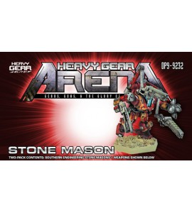 Heavy Gear Arena - Stone Mason Engineering Gear Two Pack