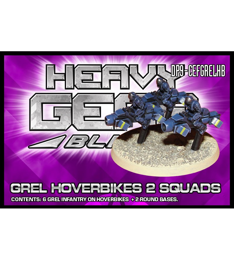 Grels on Hoverbikes 2 Squads Pack