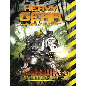 Heavy Gear Blitz Field Manual: Core Rulebook Companion (Color)