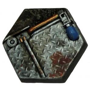 25mm Techno Hex Base D