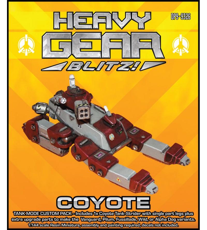 Coyote Strider Tank Mode