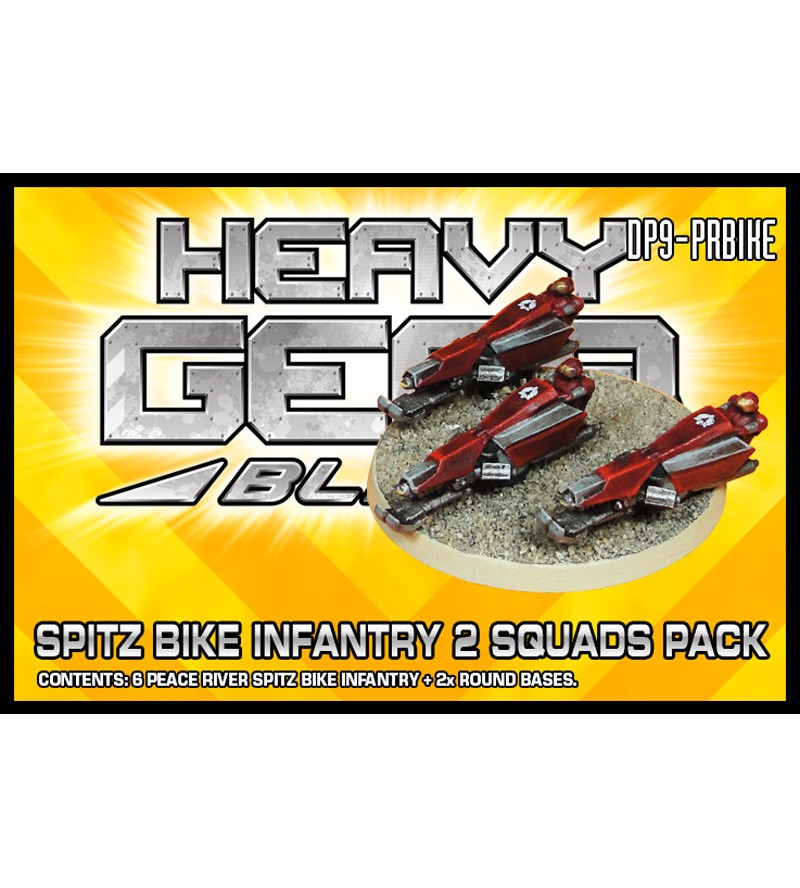 Peace River Spitz Bike Infantry 2 Squads Pack
