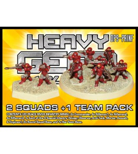 Peace River Infantry 2 Squads +1 Team Pack