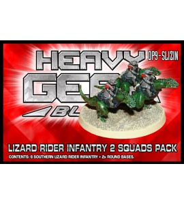 Southern Lizard Rider Infantry 2 Squads Pack