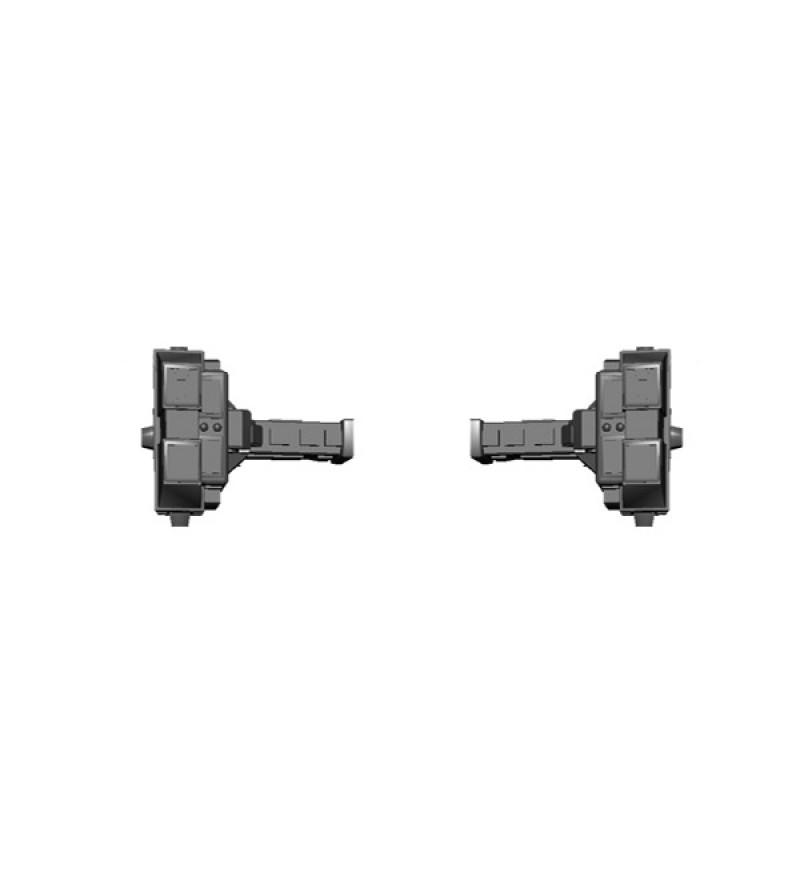 Jovian Wars: CEGA Resin Habitat Section Add-Ons x2 (Birmingham Style)