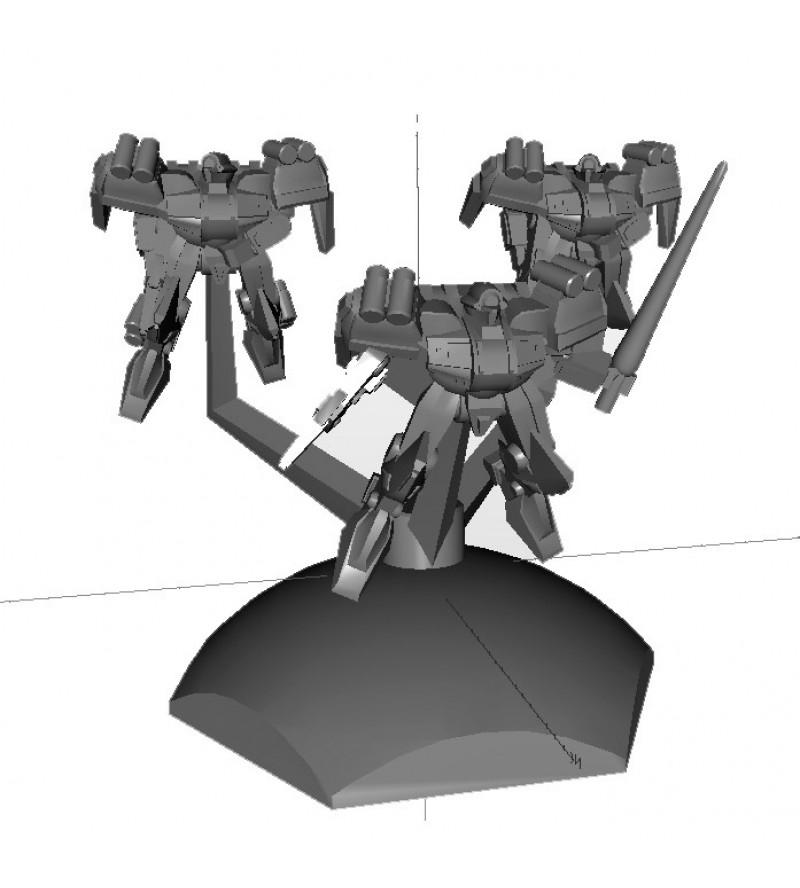 Jovian Wars: Venus Ryu AntiShip Exo Armor Squad