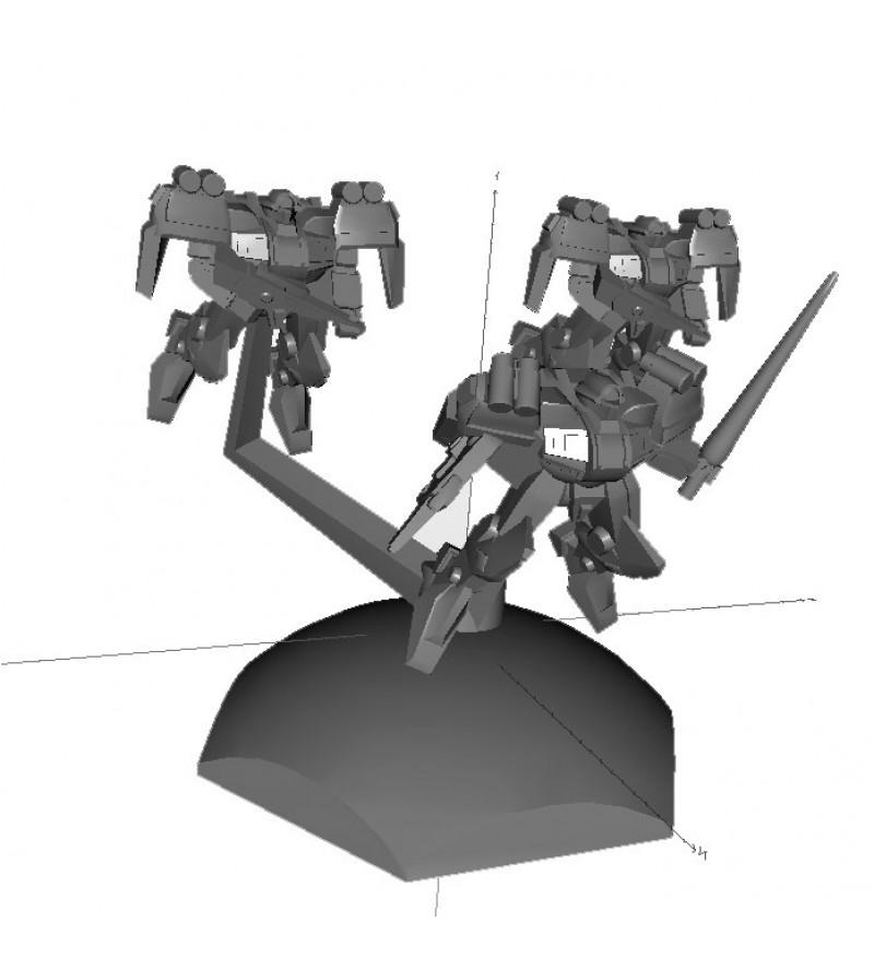 Jovian Wars: Venus Ryu Interceptor Exo Armor Squad