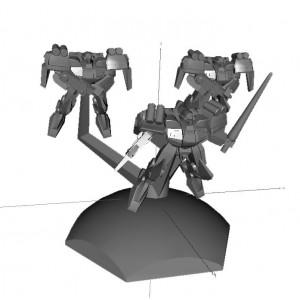Jovian Wars: Venus Ryu Exo Armor Squad
