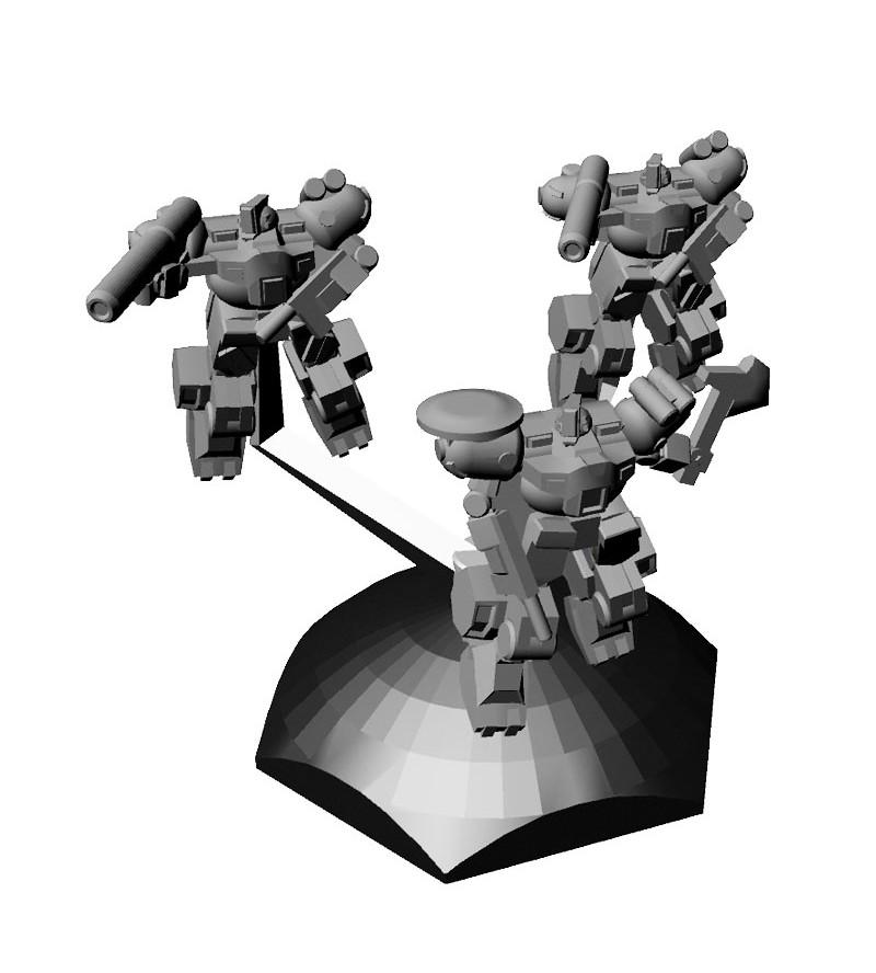 Jovian Wars: CEGA Wyvern Marine Exo Armor Squad