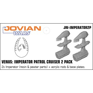 Jovian Wars: Venus Imperator Patrol Cruiser Two Pack