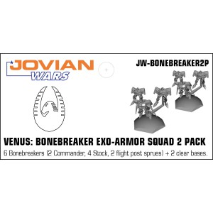 Jovian Wars: Venus Bonebreaker Exo Armor Squad 2 Pack