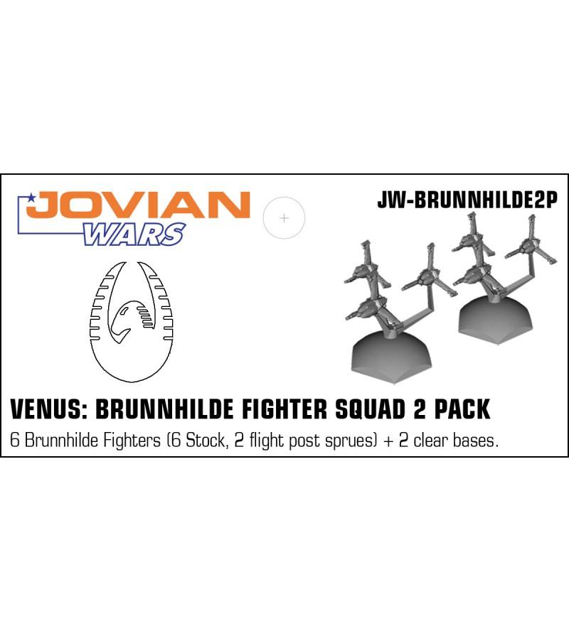 Jovian Wars: Venus Brunnhilde Fighter Squad 2 Pack