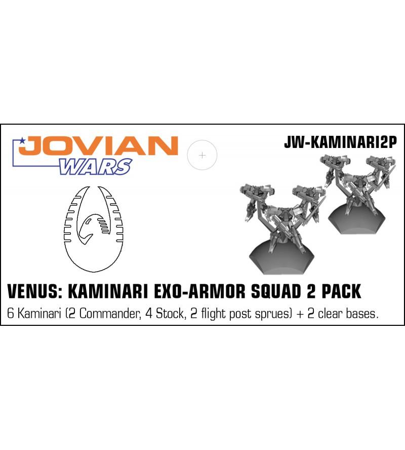 Jovian Wars: Venus Kaminari Exo Armor Squad 2 Pack