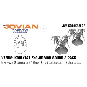 Jovian Wars: Venus Korikaze Exo Armor Squad 2 Pack