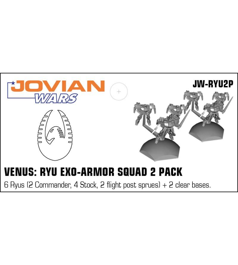 Jovian Wars: Venus Ryu Exo Armor Squad 2 Pack