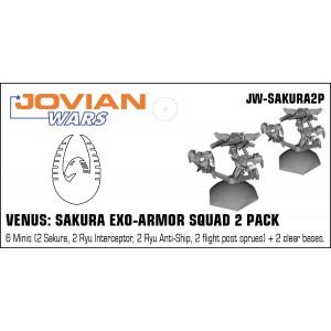 Jovian Wars: Venus Sakura Squad 2 Pack