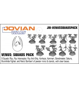 Jovian Wars: Venus All Exo-Armors Fighter & Bomber Squads Deal