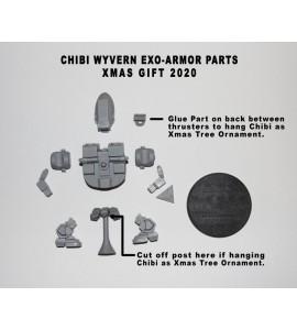 Xmas 2020 Chibi Wyvern Exo Resin Model