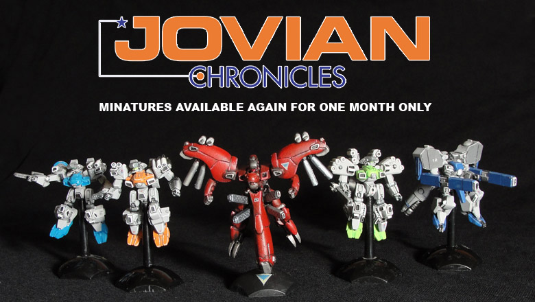 Jovian Chronicles Minis